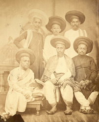 Brahmin group, Bombay.